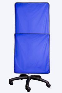 Portable radiation protective shield