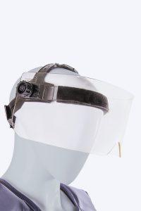 Panorama Eye shield with lead acrylic