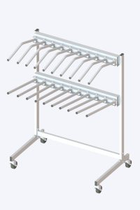 Apron and vest Mobile Double-hanger