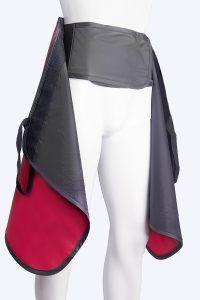 Skirt support belt